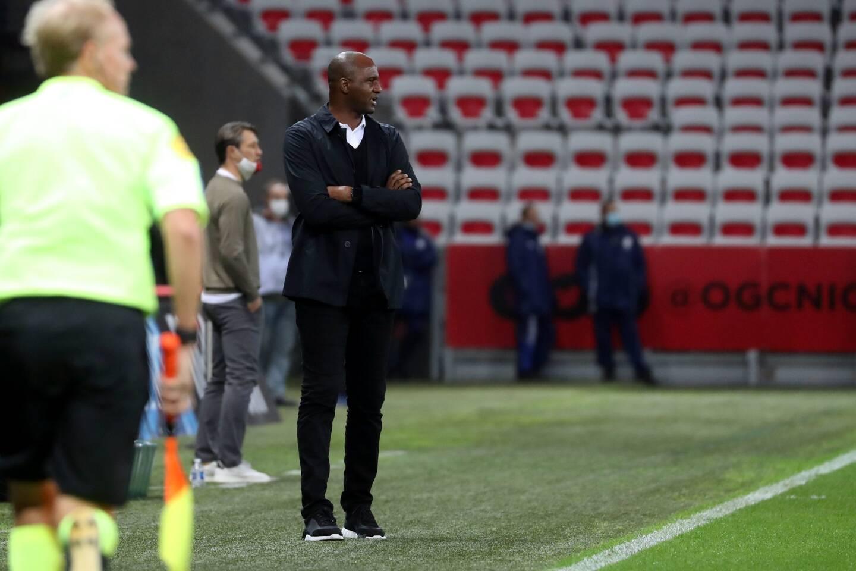 Patrick Vieira a été limogé par les dirigeants niçois après un début de saison décevant.
