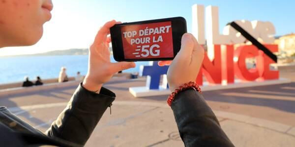 Actuellement on compte 172 antennes 5G sur le territoire de Nice.