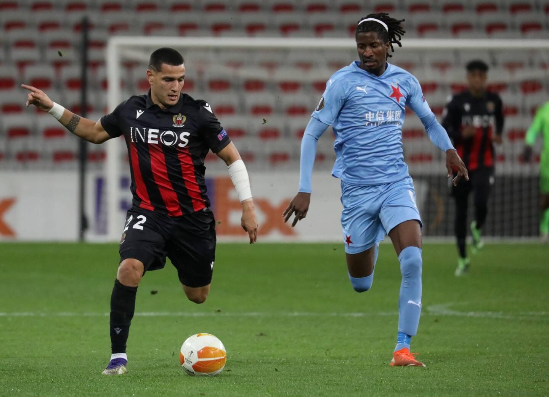 Rony Lopes, sous les couleurs de l'OGC Nice