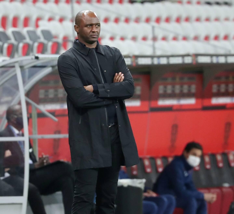Patrice Vieira, ancien entraîneur de l'OGC Nice.