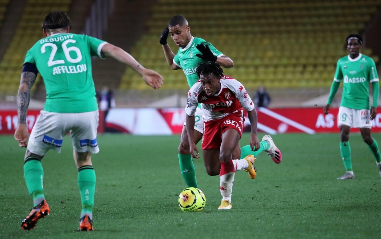 Gelson Martins contre Saint-Etienne.
