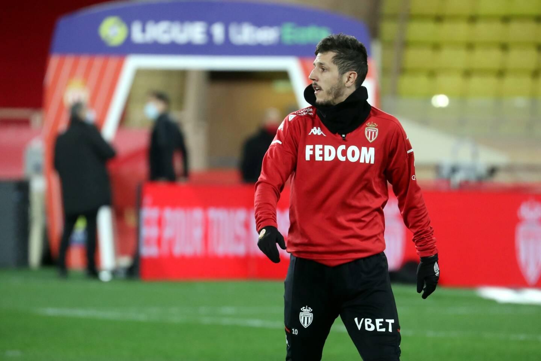 Jovetic est titulaire avec l'AS Monaco.