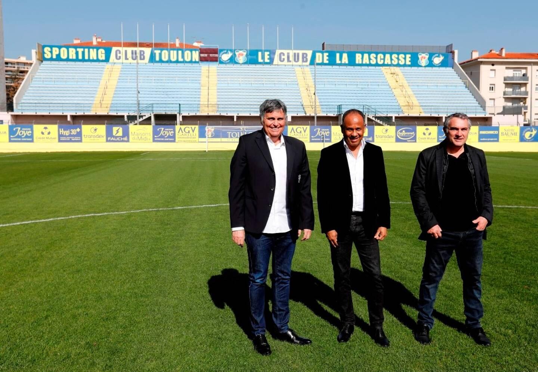 La direction du club azur et or – Claude Joye, Jean-Marc Ferreri et Jean Tigana – affichait déjà ses ambitions au stade Bon-Rencontre, fin février dernier.