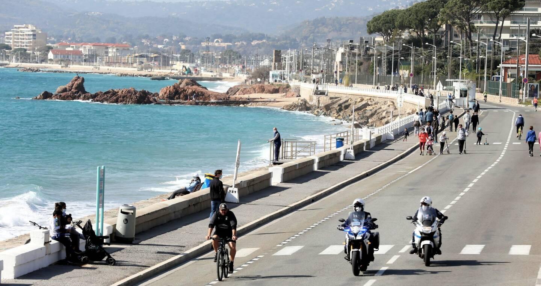 La piétonisation du Boulevard du midi à Cannes.