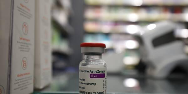 Illustration du vaccin AstraZeneca contre la Covid-19.