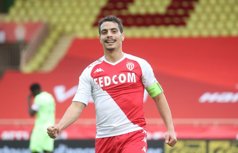 Wissam Ben Yedder sous les couleurs de l'AS Monaco.