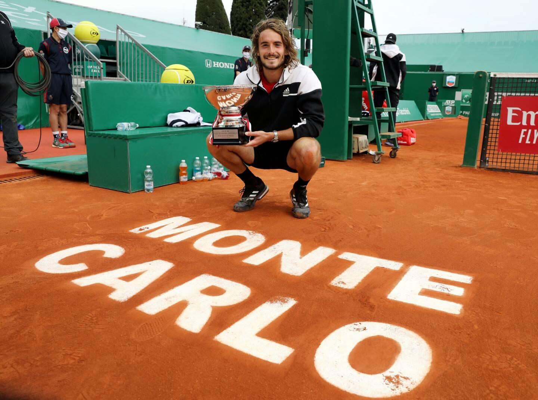 Stefanos Tsitsipas à Monaco comme à la maison.
