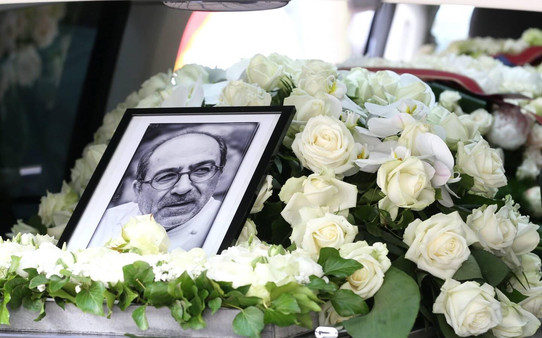 Aux obsèques du chef Philippe Da Silva, le 30 avril.