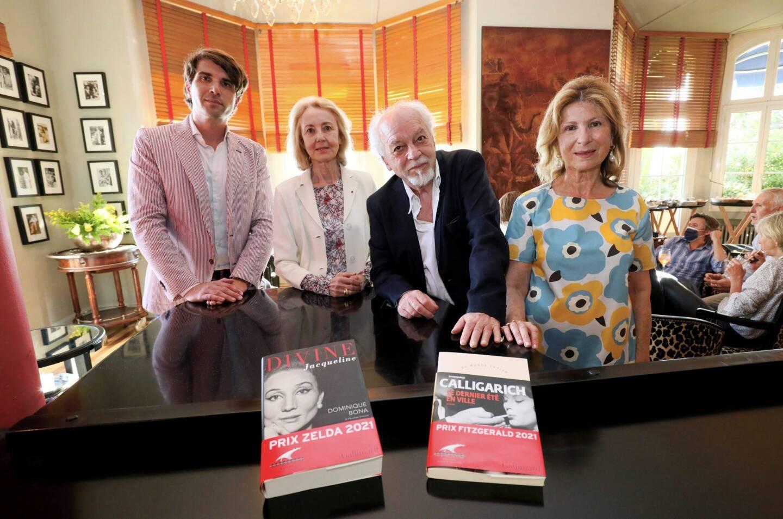 Antoine Estene-Chauvin, Dominique Bona, Gianfranco Calligarich, et Marianne Estene-Chauvin.