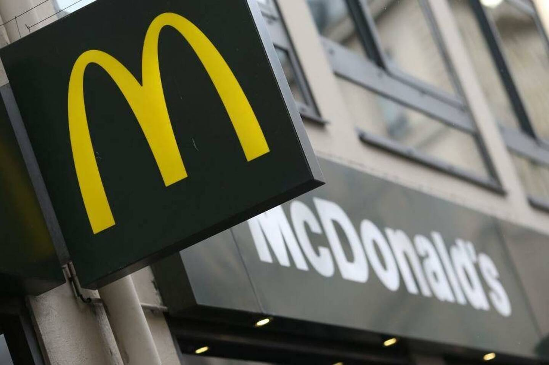 L'enseigne d'un restaurant McDonald's. Illustration.