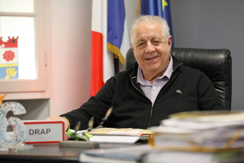 Robert Nardelli, maire de Drap.