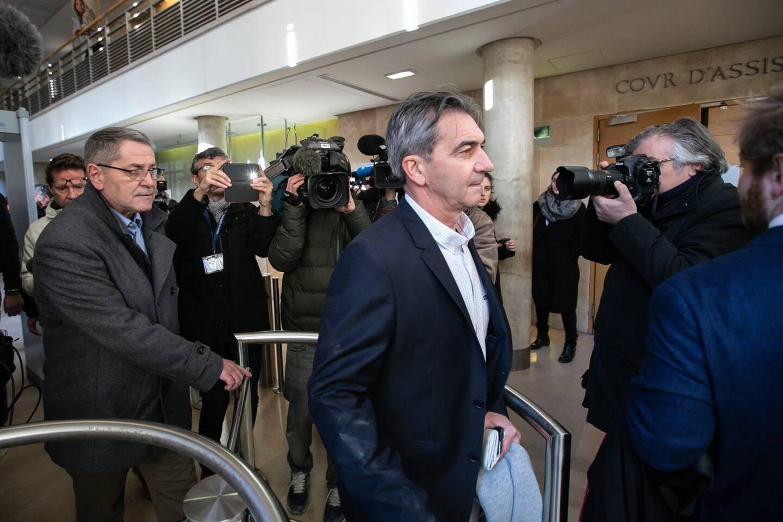 Bruno Odos à l'ouverture du premier procès Air Cocaïne.