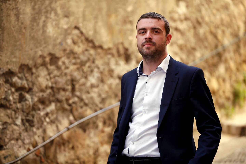Sébastien Olharan, 27 ans, maire LR de Breil-sur-Roya.