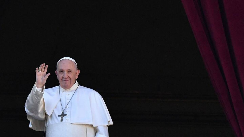 Le pape François.