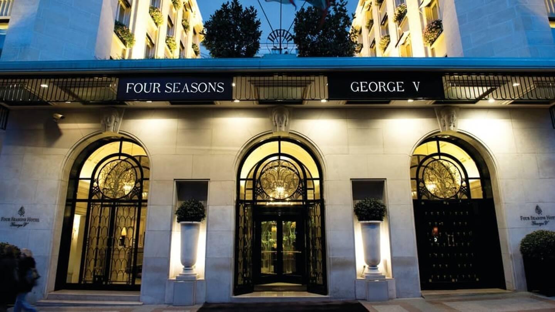 Le palace George V, à Paris.