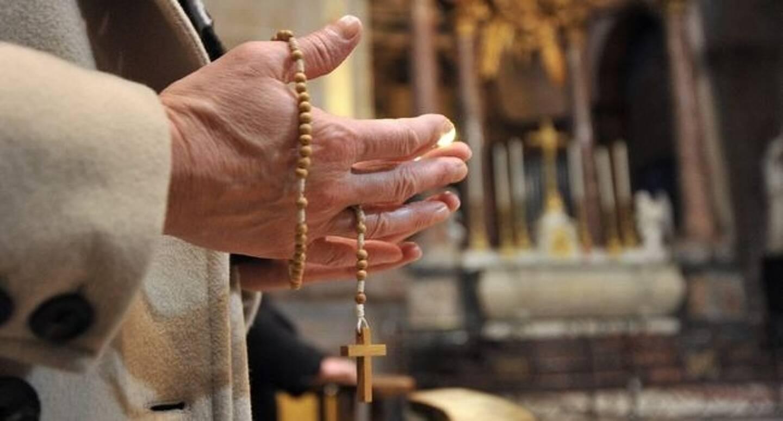 Un prêtre (image d'illustration)