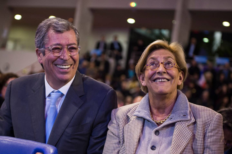 L'ancien député français de droite Les Républicains (LR) et ancien maire de Levallois-Perret Patrick Balkany et son épouse Isabelle Balkany (illustration).
