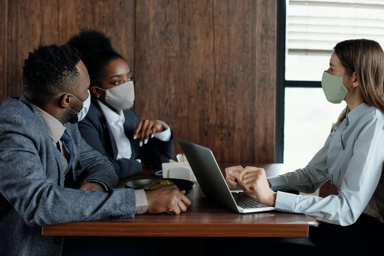 """""""Cela a été une vraie mission de soutenir le désarroi des chefs d'entreprise et de les accompagner."""""""