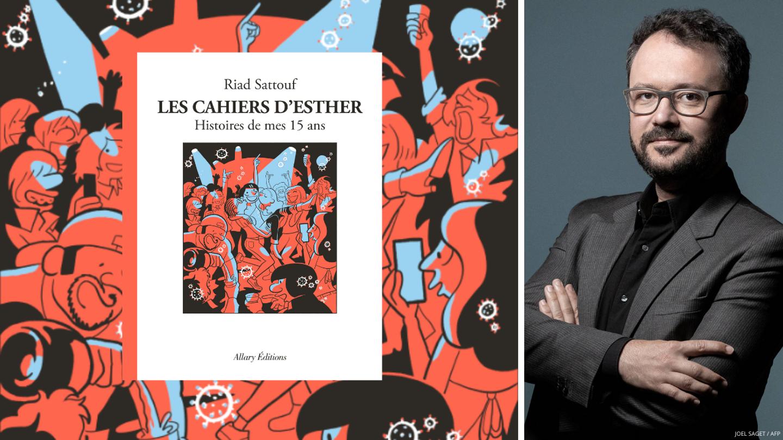 """Riad Sattouf sort le tome 6 de la bande dessinée """"Les Cahiers d'Esther"""" le 10 juin 2021."""