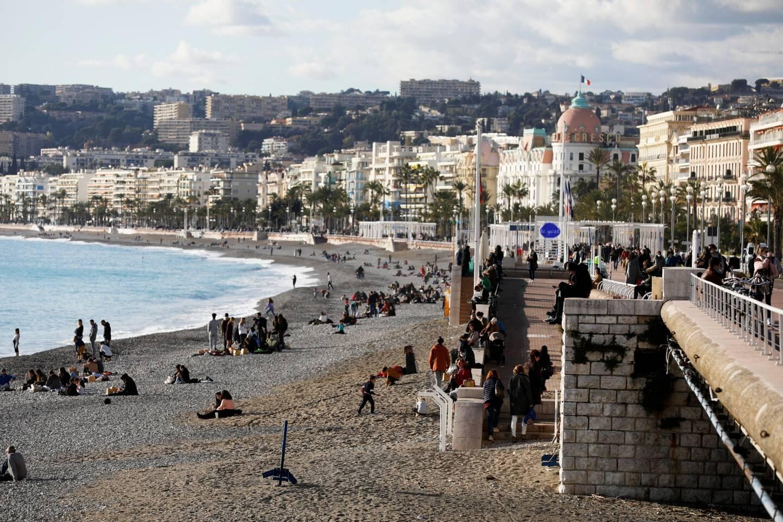Une vue de la promenade des Anglais à Nice (illustration).
