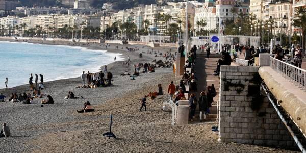 Nice et les communes littorales sont concernées par le confinement partiel