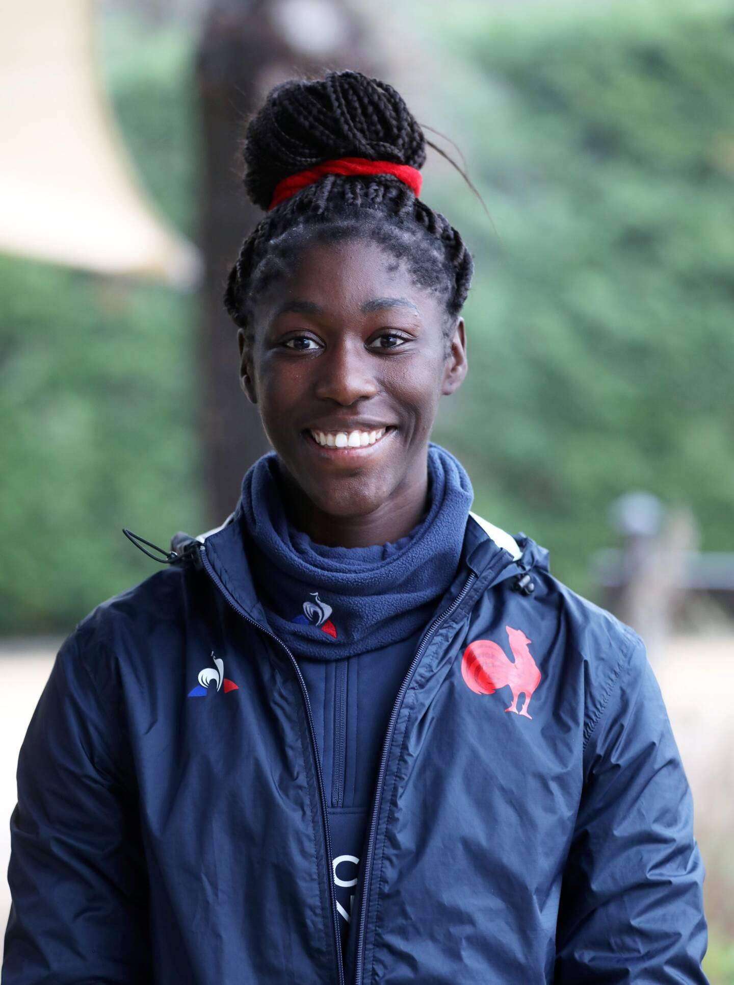 """Nassira Kondé : """"On est un groupe assez jeune, il y a des étapes à franchir. On apprend à se connaître, et je pense que d'ici à 2024, il y a de quoi faire une équipe vraiment pas mal."""""""