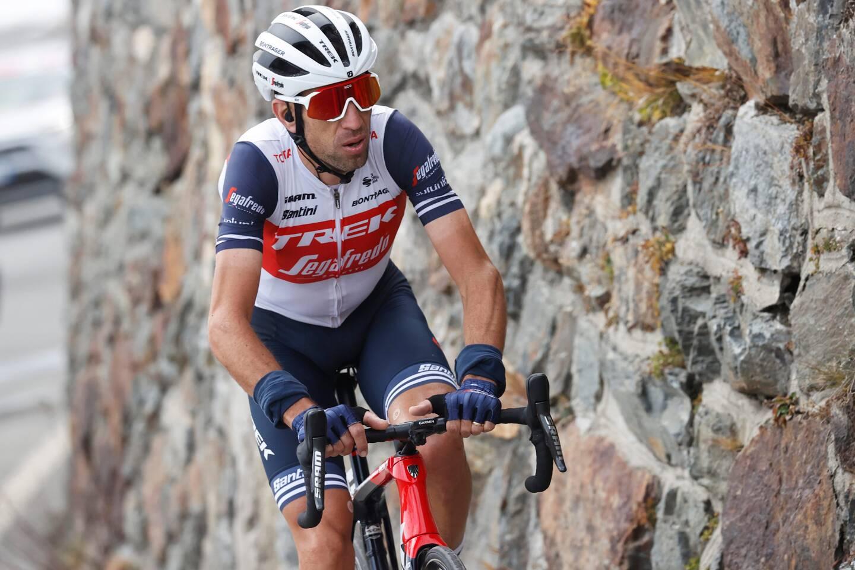 Vincenzo Nibali, vainqueur des trois grands Tours, sera le leader de Trek. (Photo AFP)