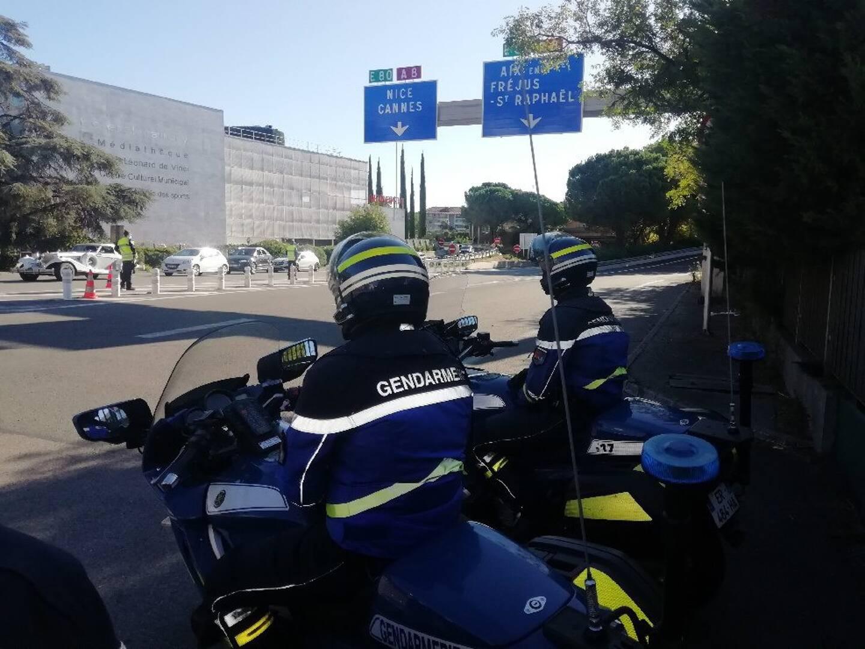 Le motard a été intercepté sur la plaine du Var.