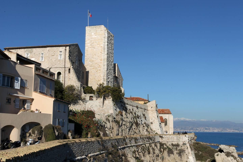 Le musée Picasso est abrité au sein du château Grimaldi.