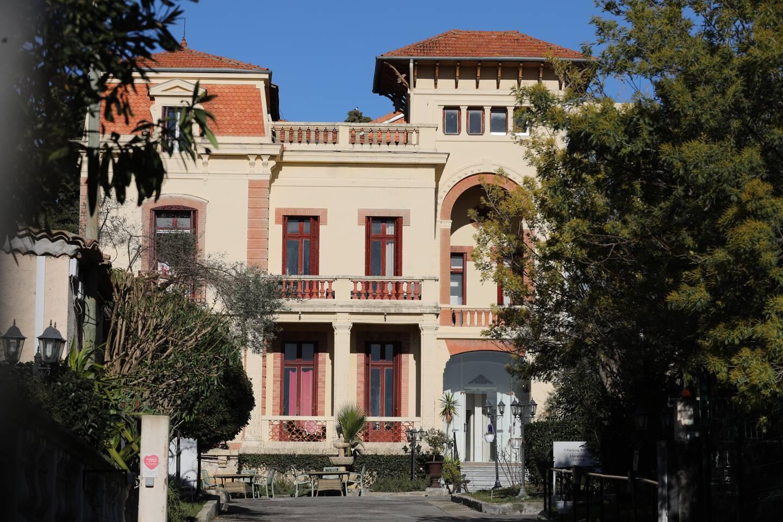 La maison de retraite Le Château de la Brague à Antibes.