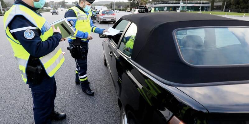 Les tests PCR des étrangers passés au crible par les gendarmes sur l'autoroute - Nice-Matin