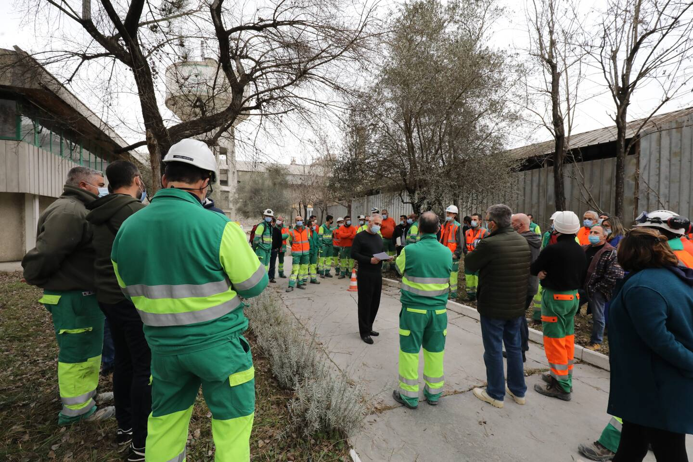 Les salariés de l'usine Lafarge de Contes ont appris hier la fermeture à venir du site.