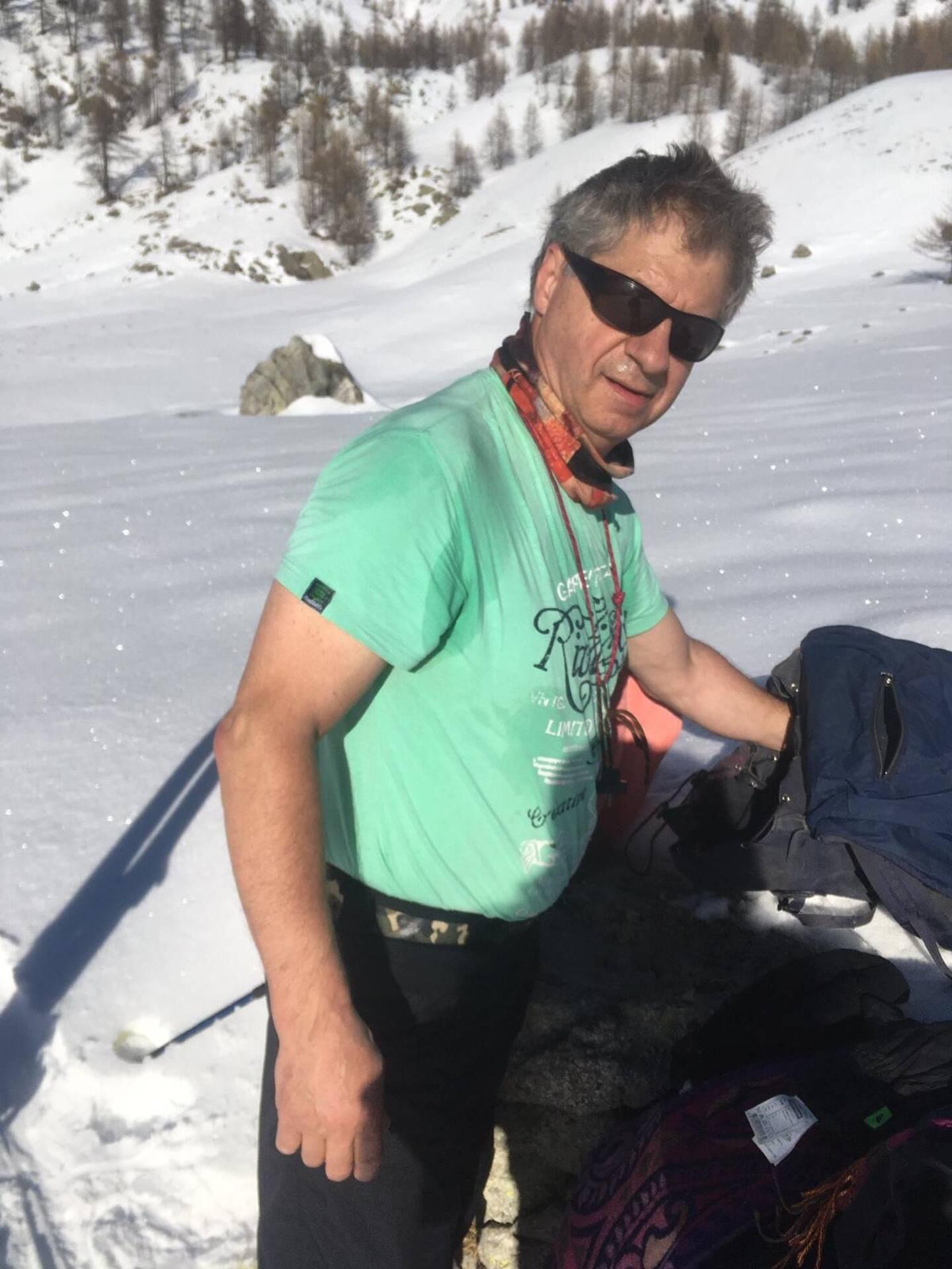 Ancien chasseur alpin à Briançon, André Boulanger connaît la montagne, sa beauté et ses dangers.