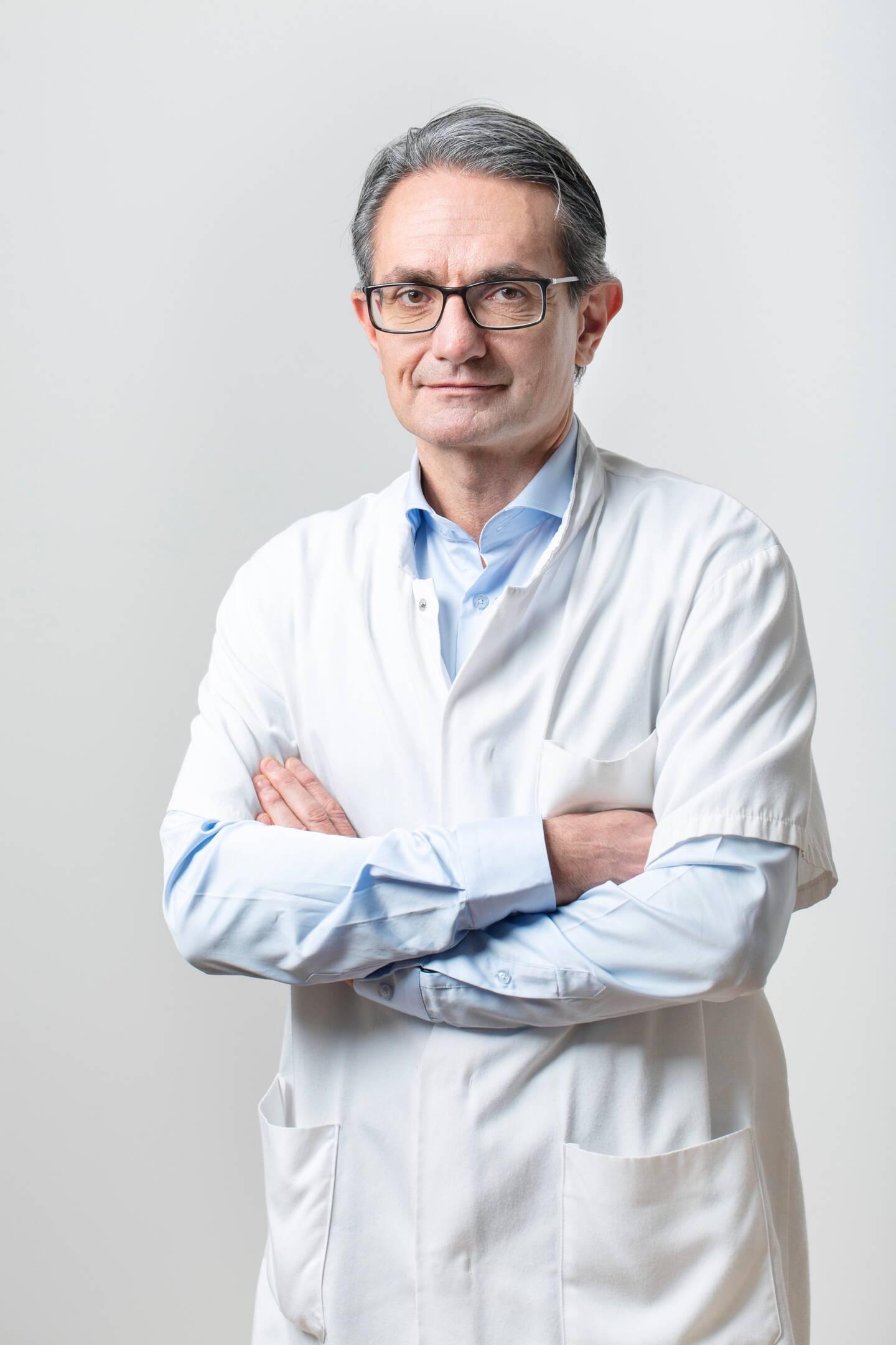 Le Pr Emmanuel Barranger, à la tête de l'établissement depuis 2 ans, a dû s'adapter à la crise de la Covid-19.