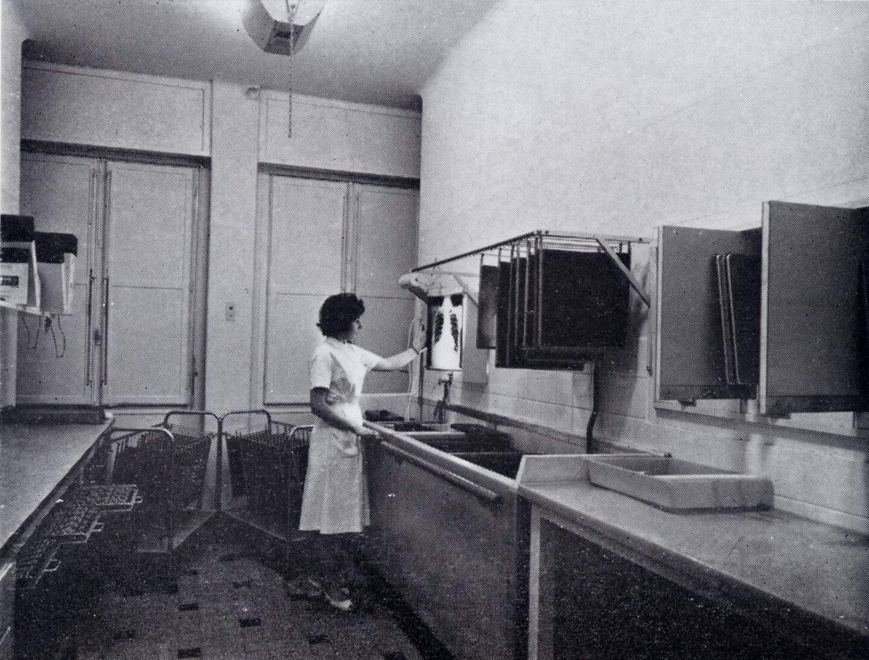 Le laboratoire de développement radio.