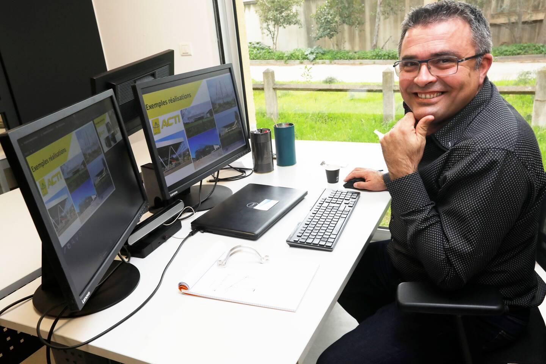 Emmanuel Glin, directeur commercial d'ACTI Group.