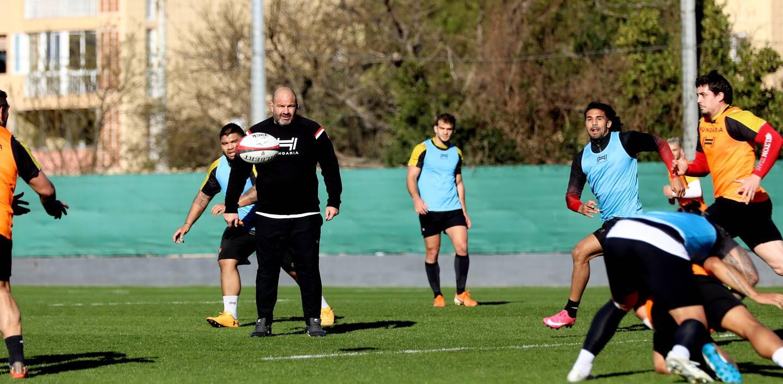 Les Toulonnais ont travaillé cette semaine pour trouver des solutions dans le jeu au pied.