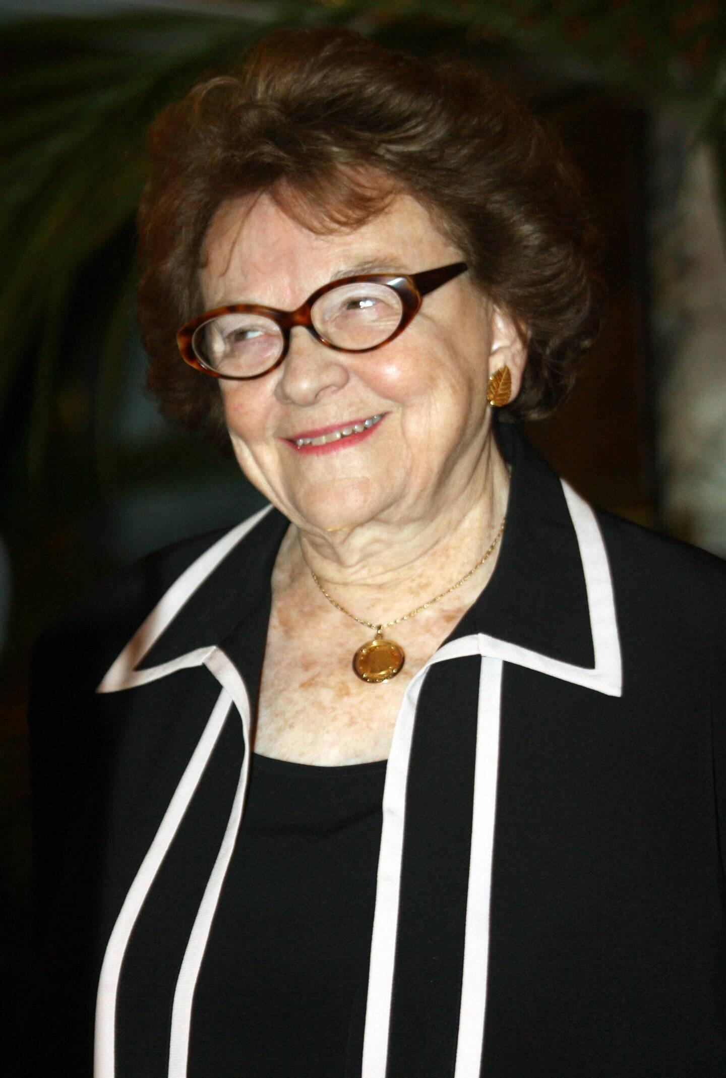 Nadia Lacoste avait 99 ans. (Photo Franz Chavaroche)