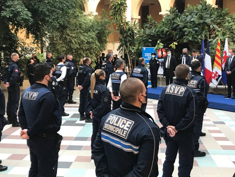 La municipalité a lancé une plateforme de soutien à sa police municipale.