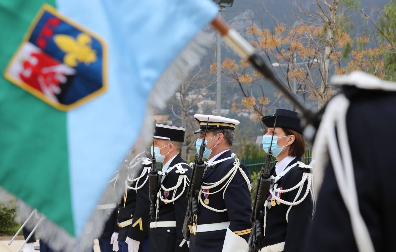 La Valette-du-Var, ce mardi matin, la cérémonie en hommage aux gendarmes décédés en service s'est déroulée à la caserne Duchâtel.