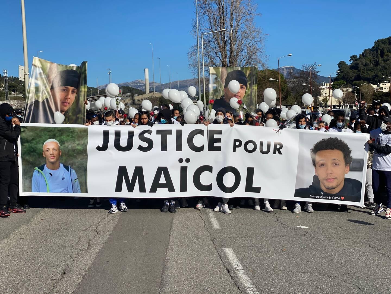 Dimanche, les amis et les proches de Maïcol ont manifesté pour avoir des réponses.