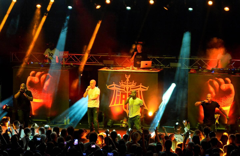 Une des dernières fois qu'I AM s'était produit sur scène à la citadelle de Saint-Tropez. Mi-mars, en pleine pandémie, les rappeurs phocéens participeront à un concert test avec du vrai public à domicile au Dôme.