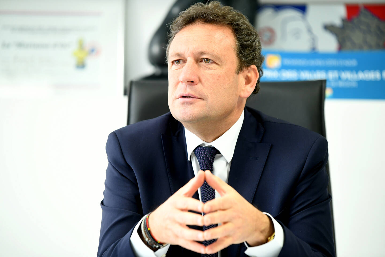 François de Canson, président du Comité régional du tourisme. [Photo via MaxPPP]