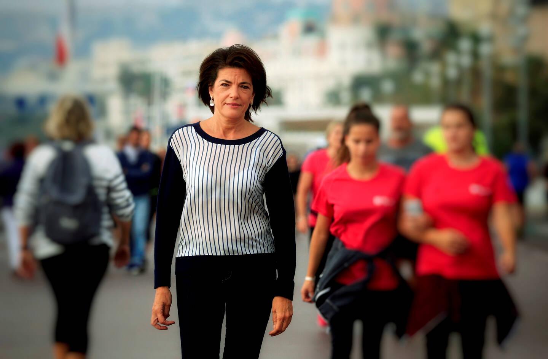 La sénatrice est présidente du groupe d'amitié franco-monégasque au Sénat (Photo Frantz Bouton)