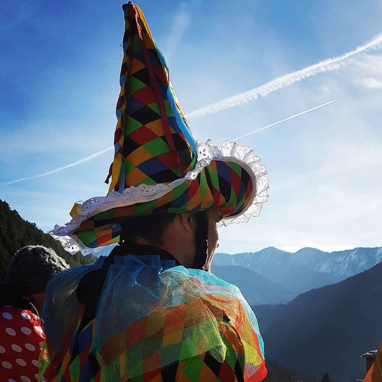 Le biffou, un des emblèmes de ce carnaval, ne sera pas de sortie cette année.