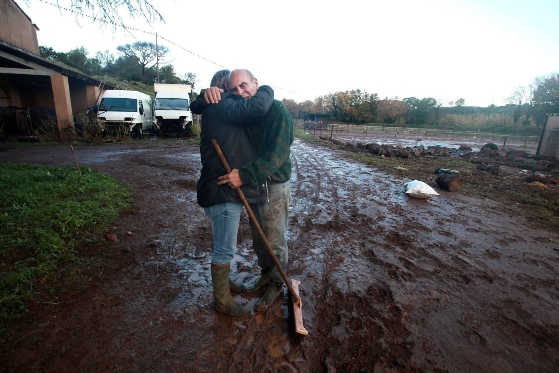 Cette photo de Philippe Arnassan, prise lors des inondations meurtrières en décembre 2019 à Fréjus, a reçu le Prix Varenne 2020.