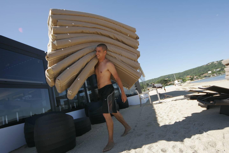 L'économie du sable représente des enjeux énormes.