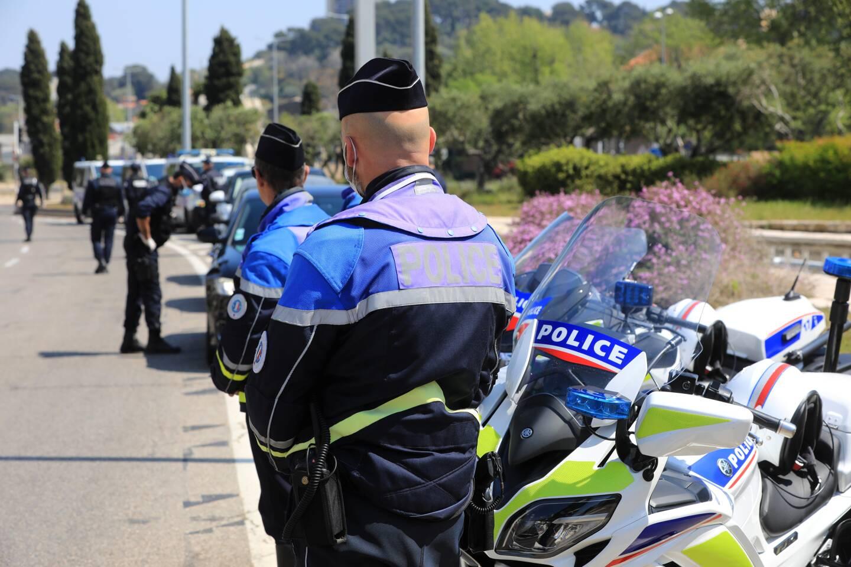 Le chauffard avait heurté la moto d'un policier qui s'apprêtait à le contrôler.
