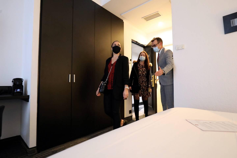 Le groupe Summer Hotels a maintenu ouverts deux de ses six hôtels niçois.