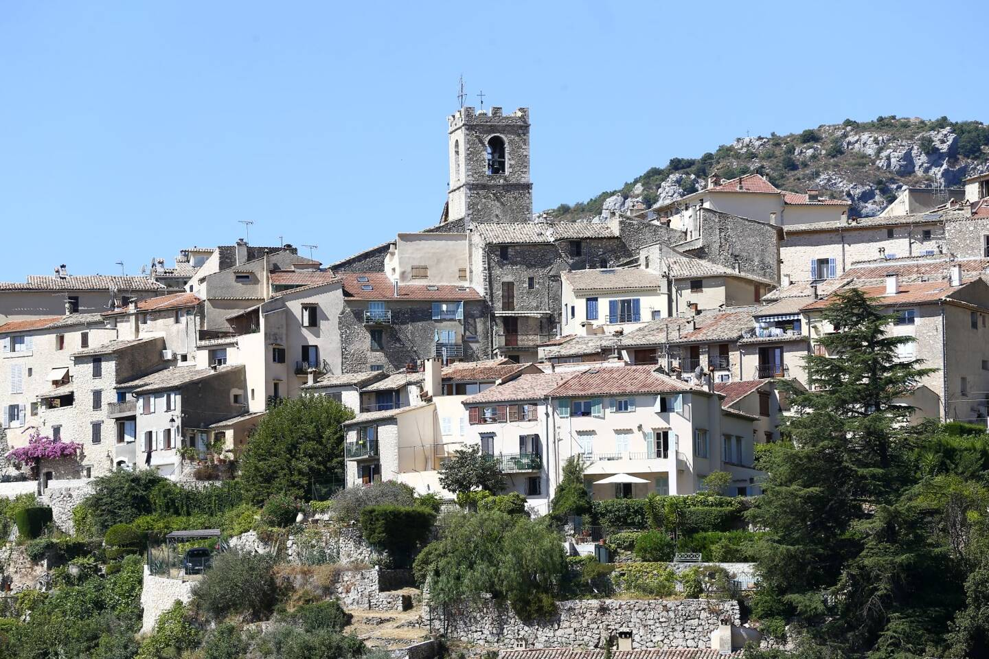 Le village de Saint-Jeannet (Photo S.B.)